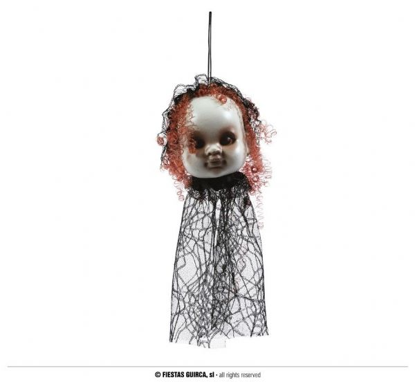 Doll Hanging Head